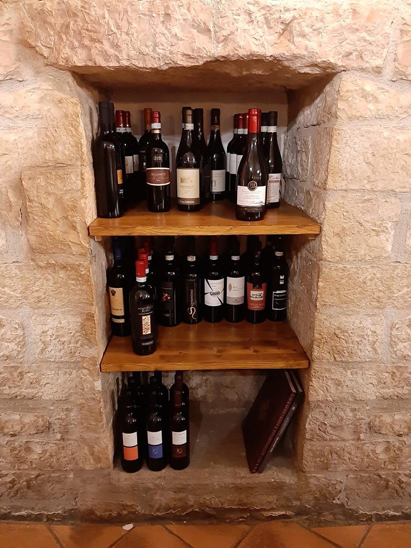 la cantina Ristorante I Monaci ad Assisi